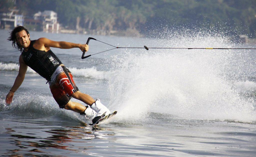 jet ski rental towing a water ski