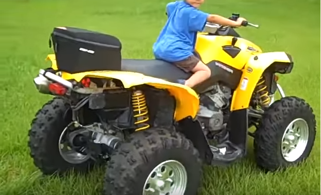 Can Am 500cc Renegade 4×4 ATV Rental-2