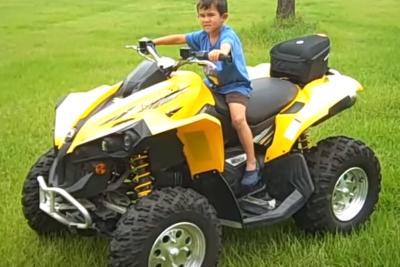 Can Am 500cc Renegade 4×4 ATV Rental