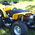 Can Am 800cc Renegade 4×4 ATV Rental-2