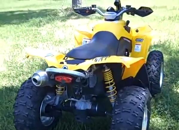 Can Am 800cc Renegade 4×4 ATV Rental-3