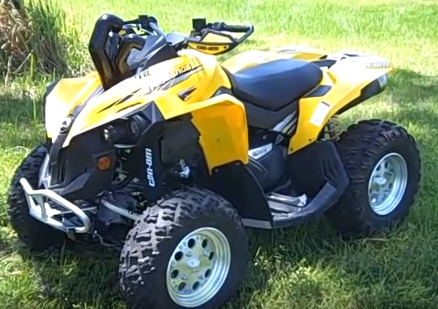 Can Am 800cc Renegade 4×4 ATV Rental