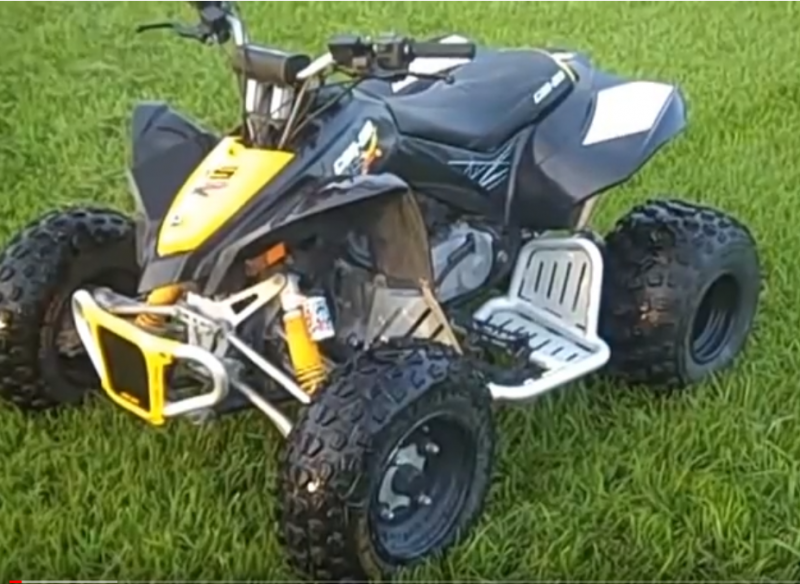 Can Am ATV Rentals for kids