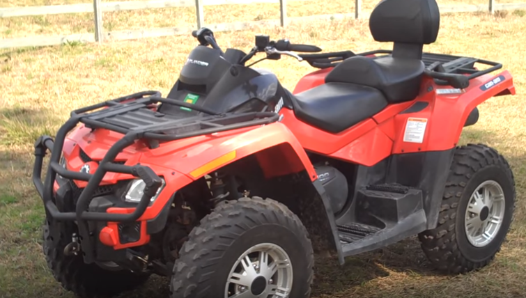 Can Am Outlander 500 2-Person ATV Rental-2