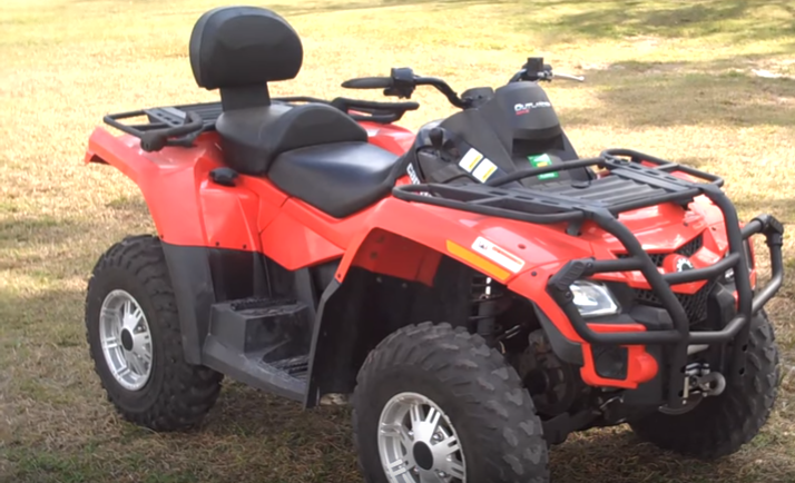 Can Am Outlander 500 2-Person ATV Rental