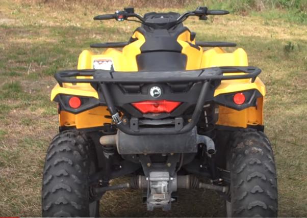 Can Am Outlander 500 ATV Rental-2