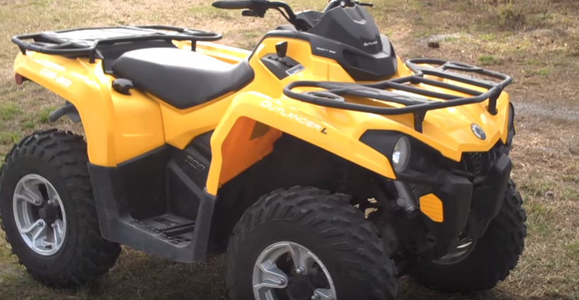 Can Am Outlander 500 ATV Rental-3