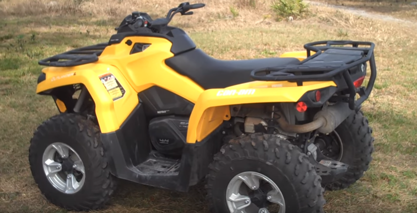 Can Am Outlander 500 ATV Rental