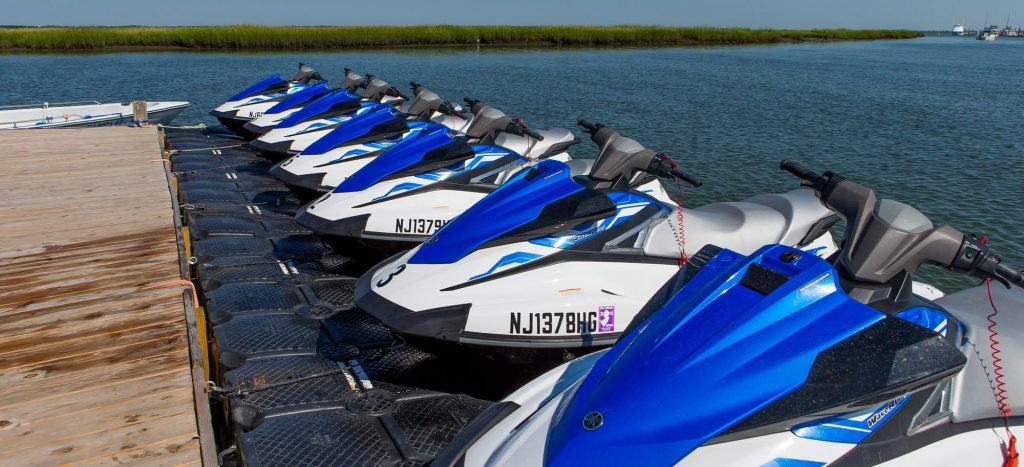 jet ski rental floating dock