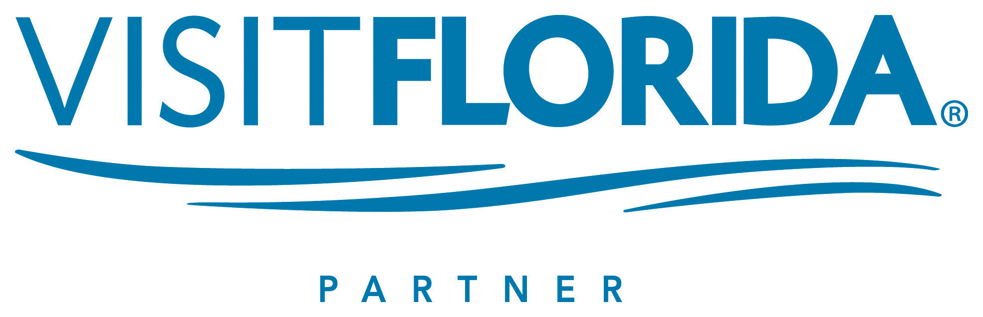 VisitFlorida Partner Logo Blue