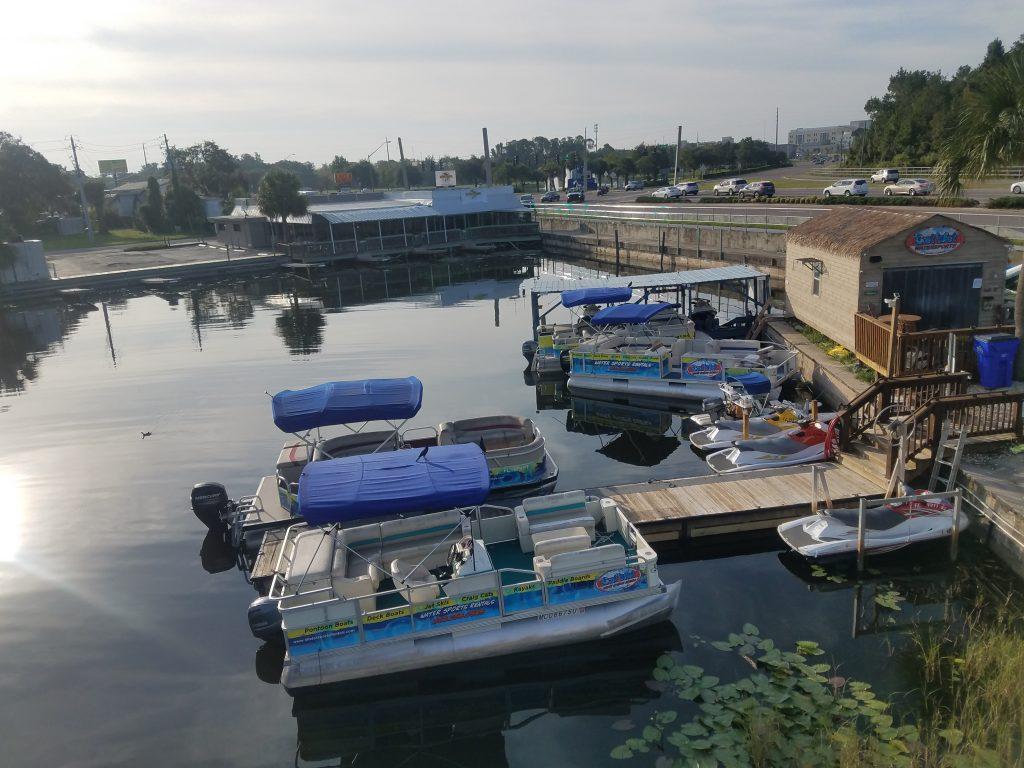 pontoon boat tavares