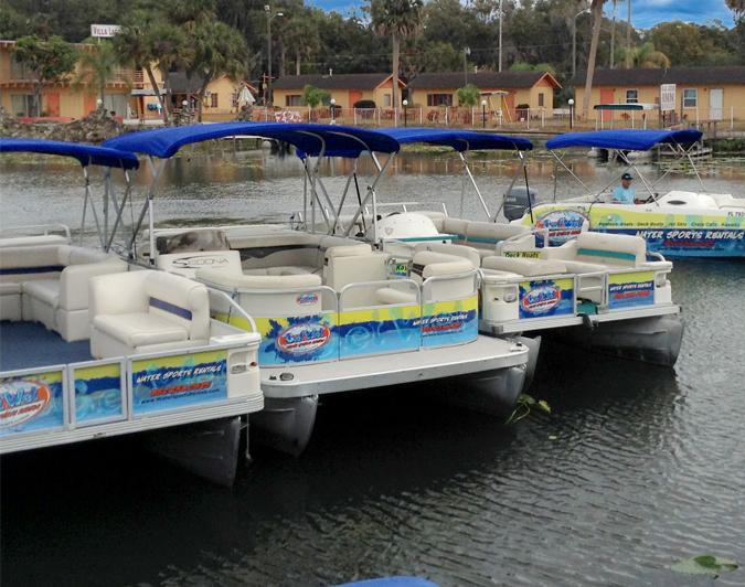 pontoon boat rental tavares