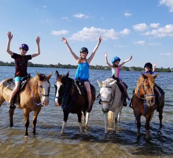 Beach+Water Horseback Rides | Rockon Recreation Rentals
