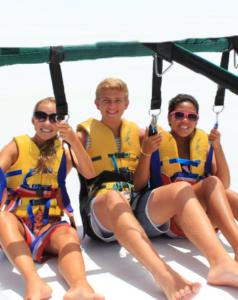 Parasail rides Miami