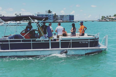 Boat Rentals 24 Ft Harris Pontoon