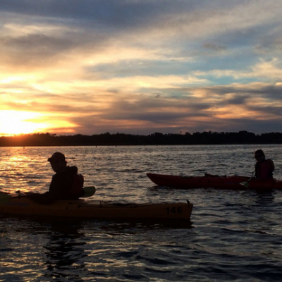 Sunset Paddling Tours