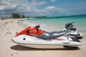 jet ski for rent ocean