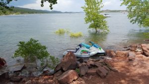 jet ski for rent on land