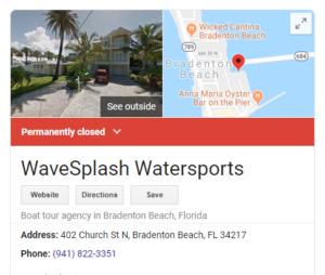 wavesplash closed