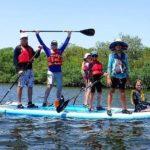 kids kayak camp