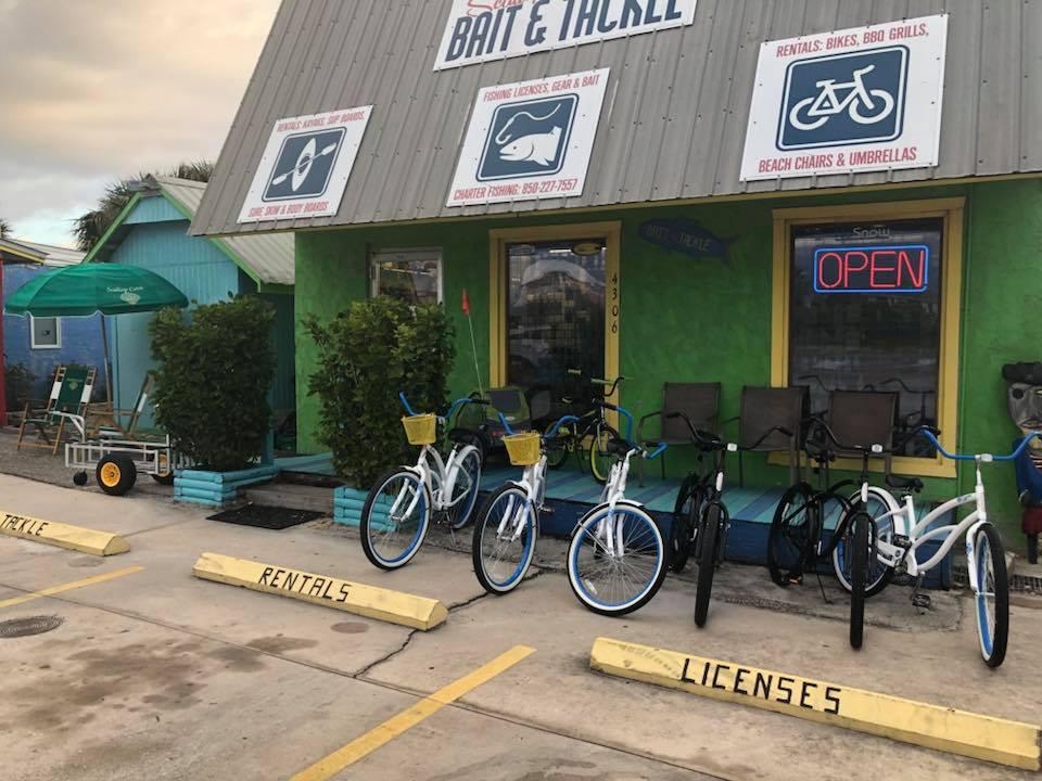 bicycle rentals port st joe