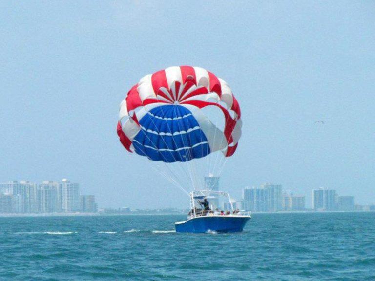 parasailing daytona ponce inlet