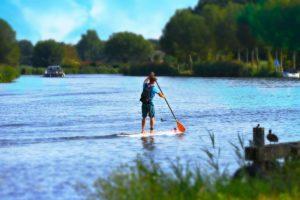 weekend paddleboarding