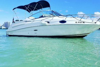 24' SeaRay Sundancer Boating Rental Miami