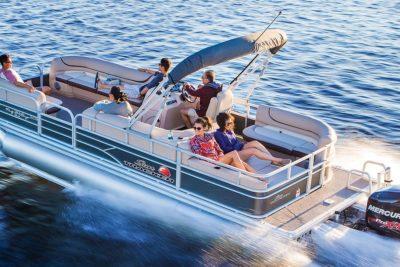 Party Barge Pontoon Rental Sun Tracker Miami Beach