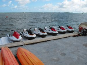 south beach jet skis ready for rent