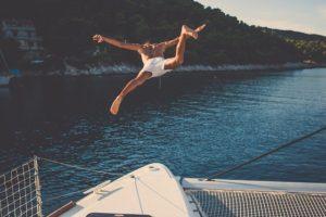 yacht charter miami swimming