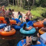 tubing in the santa fe river 9