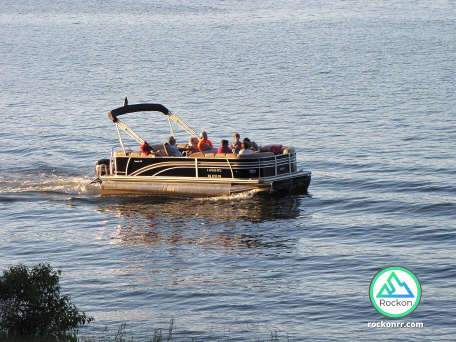 rent pontoon boat santa fe river