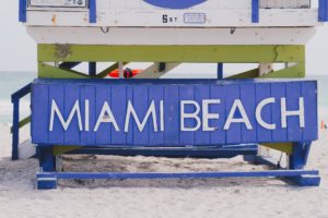 miami beach lifeguard sign
