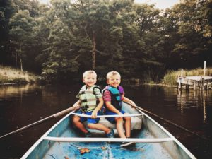 Suwannee River Canoeing with kids