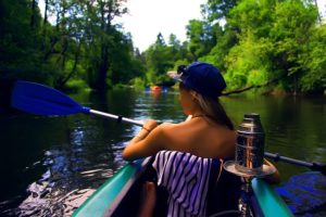 canoeing and camping near santa fe river