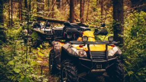croom atv's on trail