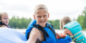kids out on water boat rental